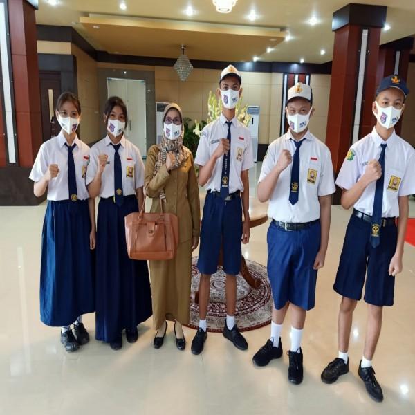 Pembukaan MPLS di Aula Jayang Tingang (AJT)  Kantor Gubernur Kalimantan Tengah