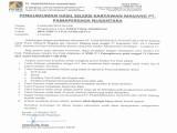 Pengumuman Hasil Seleksi Karyawan Magang PT. Pamapersada Nusantara Tahun 2021